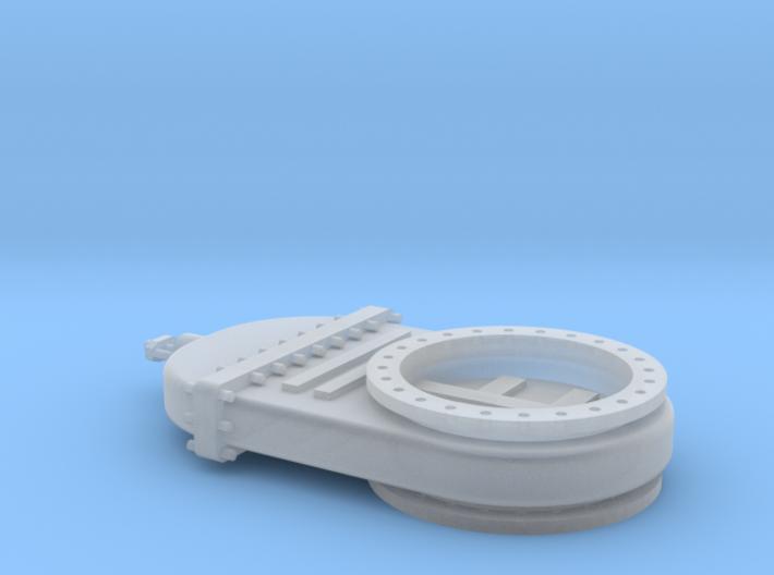 Absperrschieber 2000mm - TT 1:120 3d printed