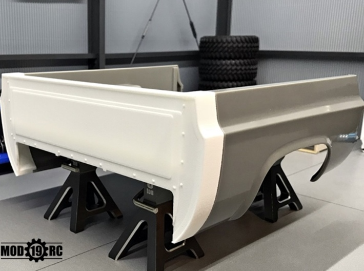 Bed Extension -12.3 In. Wheelbase for RC4WD Blazer 3d printed 12 Inch wheelbase version shown