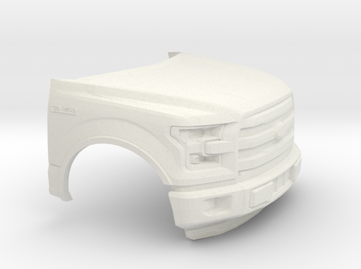1/64 2014-17 Ford F-150 Front Piece 3d printed