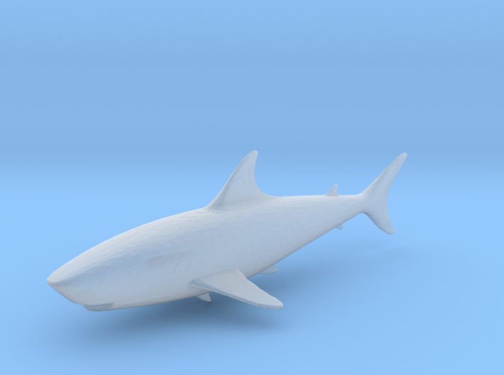 S Scale shark 3d printed This is a render not a picture