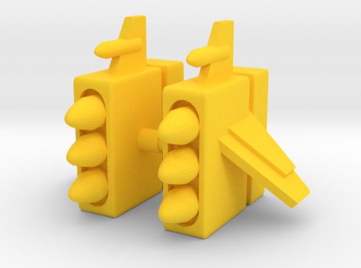 Micronauts Centaurus Missile Pods 3d printed