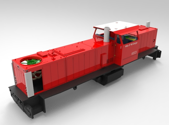 NS 6400 windfaan scale 1 (1:32) 3d printed