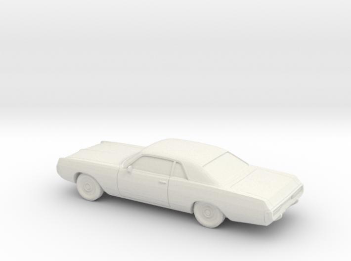 1/72 1971-72 Dodge Polara Coupe 3d printed