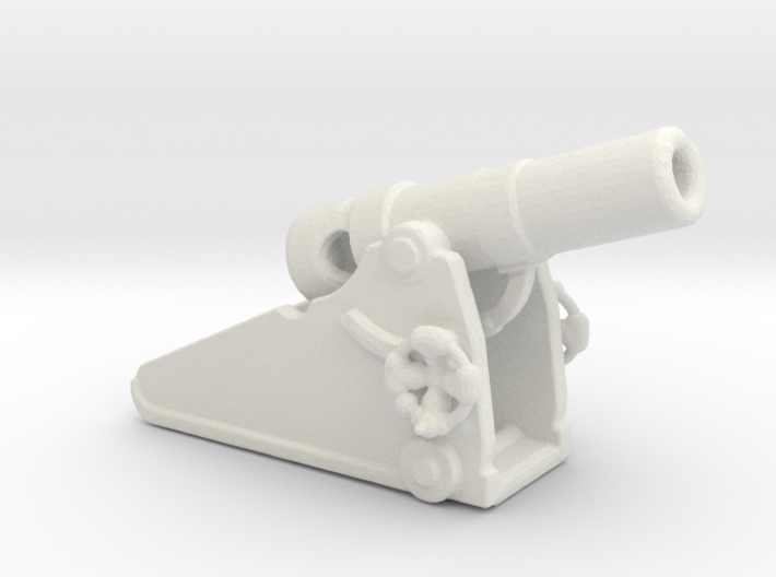 Russian heavy 8 inch cannon m 1877 1/285 3d printed