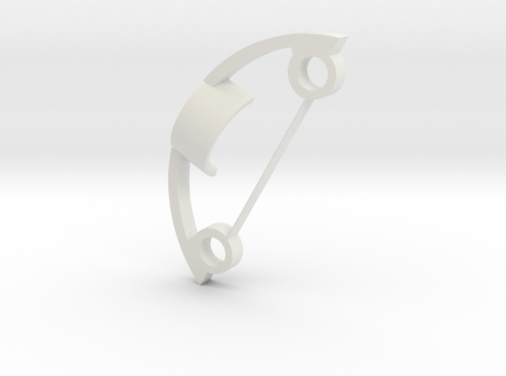 5.1 charge port holder frame 3d printed