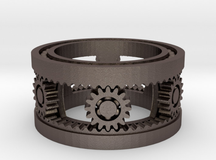Captive Bearing Mechanism 3d printed