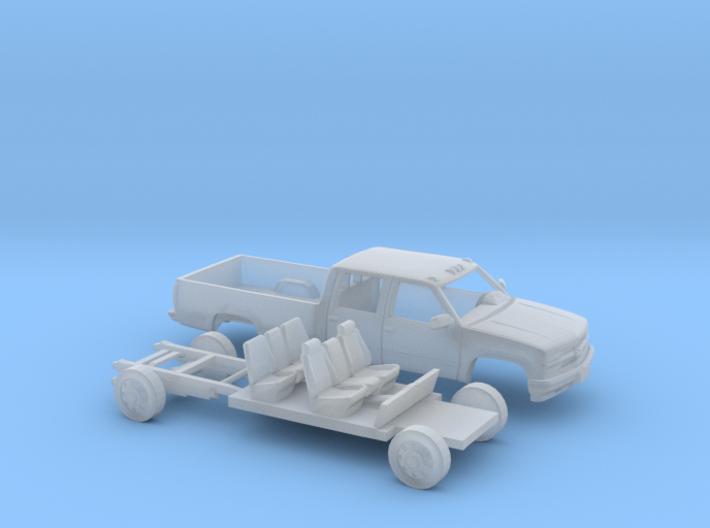 1/160 1994 Chevy Silverado CrewCab LongBed Kit 3d printed