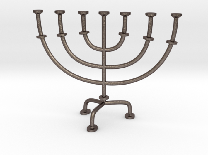 Menorah chandelier 1:12 scale model V2 3d printed