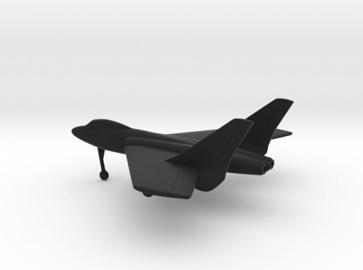 Vought F7U Cutlass 3d printed