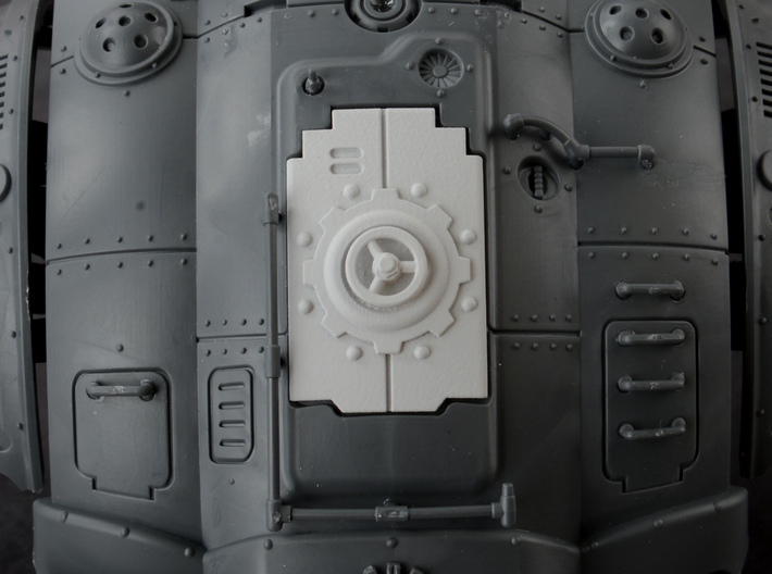 Mechanic - Carapace Hatch 3d printed
