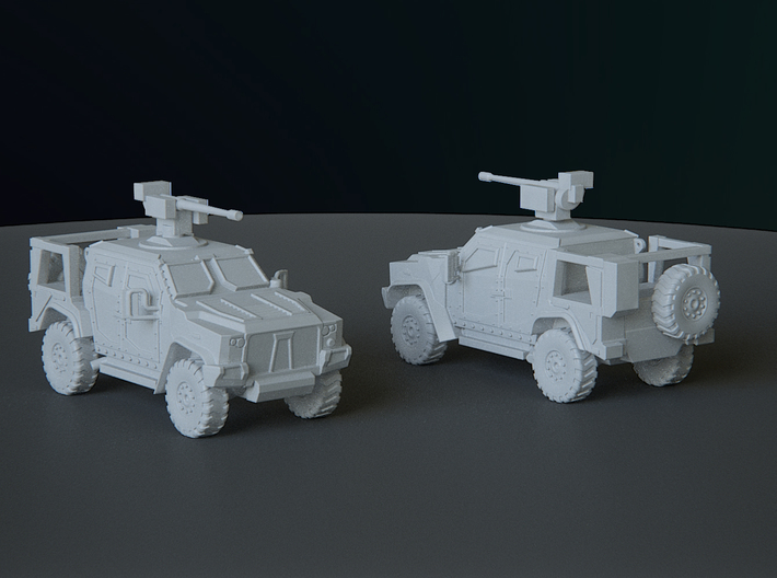 OSHKOSH JLTV scale: 1:144 3d printed