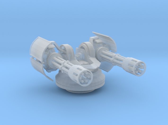 Sentry Turret 3d printed