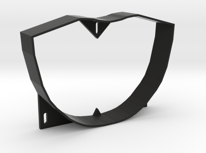 Pinbot Backbox Visor Baffle - Stand Alone 3d printed