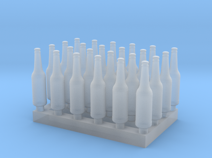 1:48 Beer/Soda bottles V3 - 24 ea 3d printed