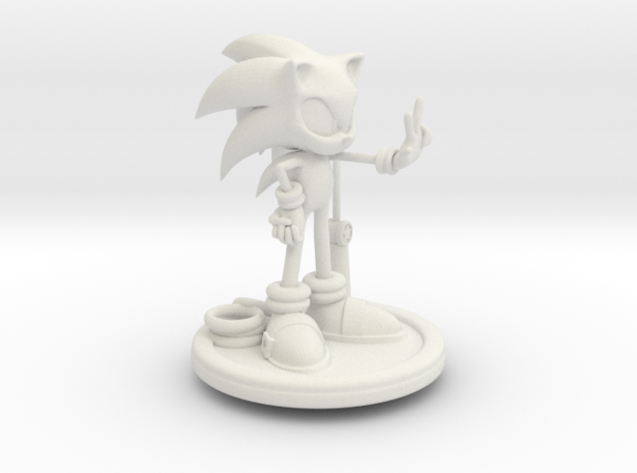 Sonic 3d printed