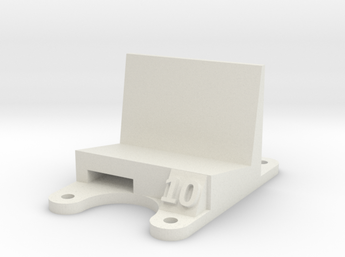 ZMR 250: 10 Degree Action Cam Mount 3d printed