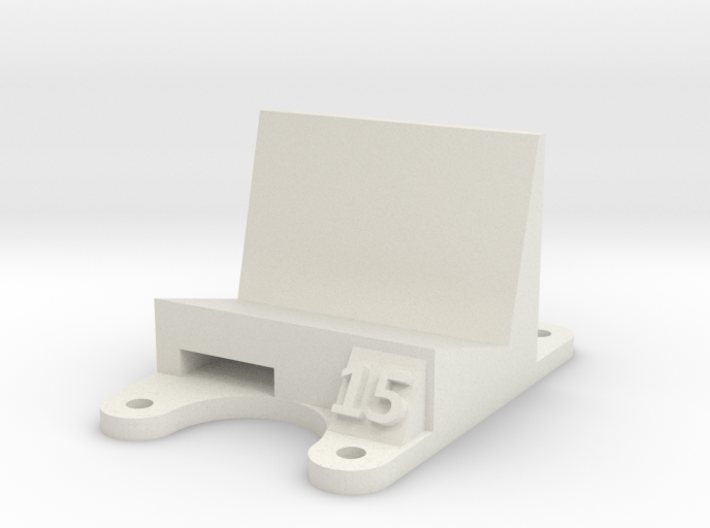 ZMR 250: 15 Degree Action Cam Mount 3d printed