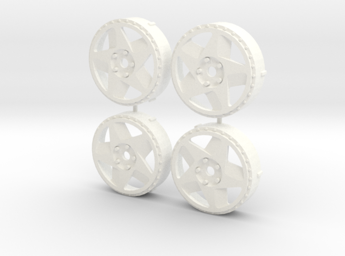 MST / Fifteen52 Tarmac 348 Insert (x4) 3d printed
