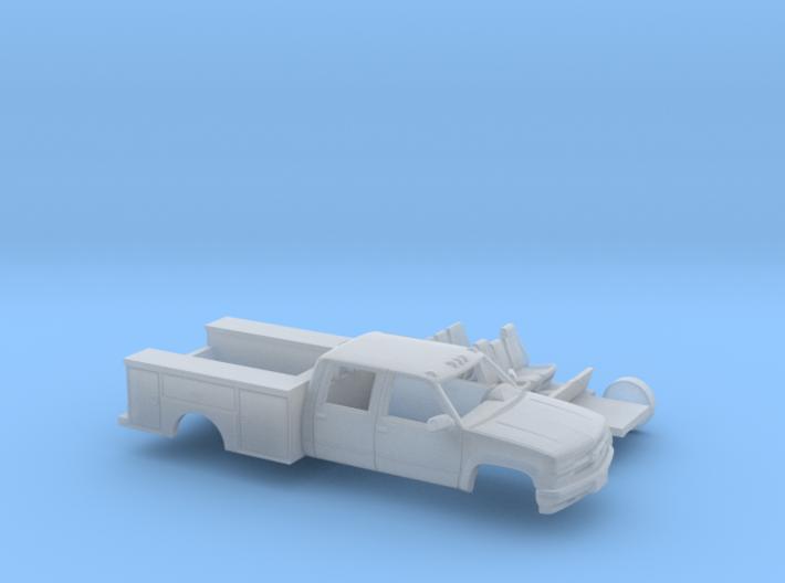 1/160 1990-98 Chevy Silverado CrewCab Utility Kit 3d printed
