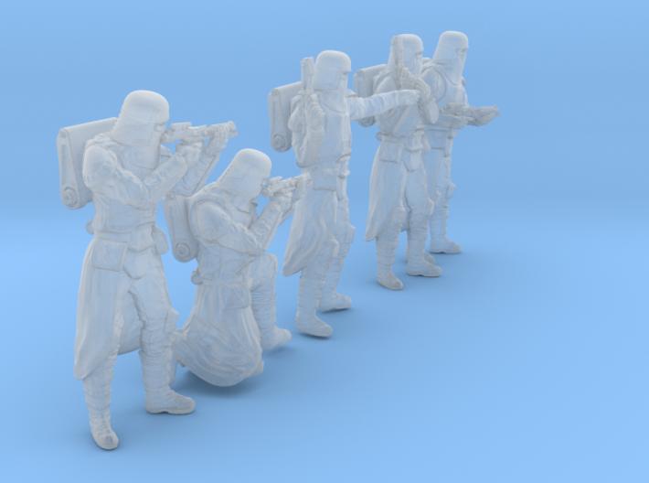 1/35 Sci-Fi Sardaucar Platoon Set 101-02 3d printed