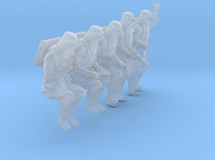 1/48 Sci-Fi Sardaucar Platoon Set 102-04 3d printed