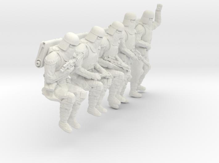 1/30 Sci-Fi Sardaucar Platoon Set 102-04 3d printed