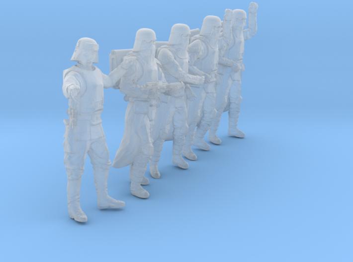 1/48 Sci-Fi Sardaucar Platoon Set 102-05 3d printed