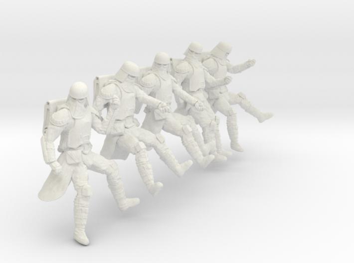 1/24 Sci-Fi Sardaucar Platoon Set 102-06 3d printed