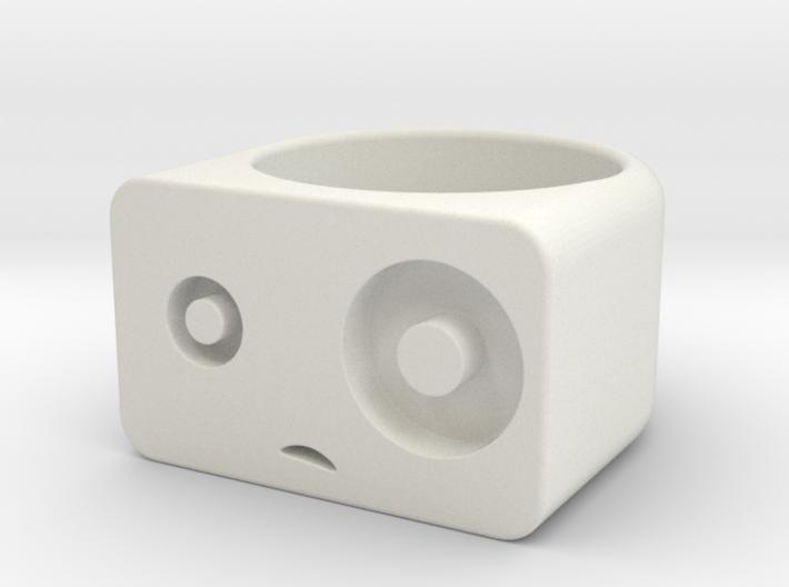 Woah! // Size 6.5 Ring 3d printed