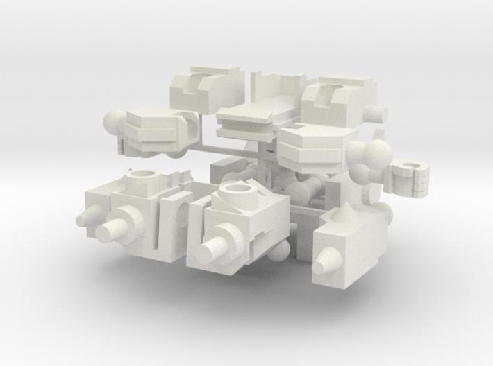 Monstrosity N-02: Sonic Chibi 3d printed