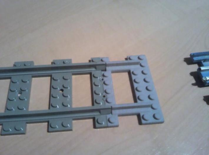 rail3 for connecting old and new tracks 3d printed