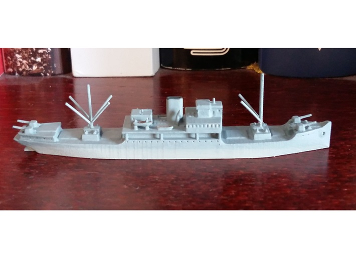 1/1250th scale Ural soviet minelayer 3d printed Photo and painting by Lutz.