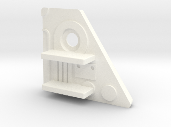 F-1400 Starwolf Missile Rack Adapter RH Side 3d printed