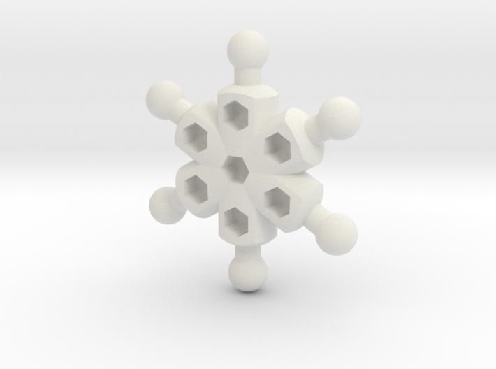 Radial Chest for ModiBot 3d printed Radial Chest for ModiBot
