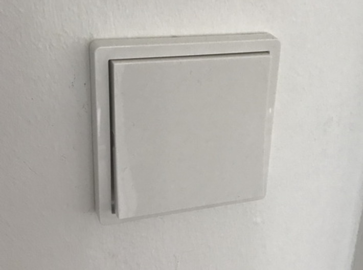 Philips Hue Switch holder for Gira 3d printed Standard Gira Switch