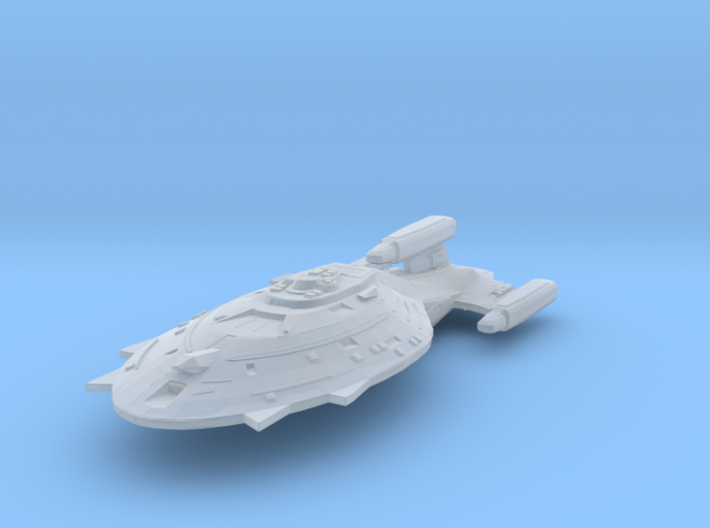 Warship Voyager 1:7000 3d printed