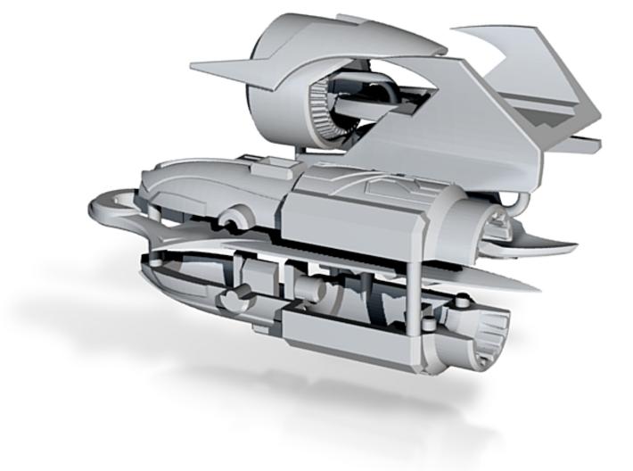 TFP Megatron's fusion cannon (dark energon) 3d printed