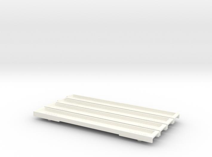N Gauge 20M 4 Car EMU Floor Set 3d printed