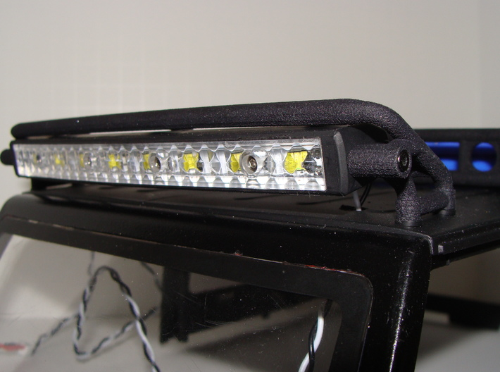Light Bar Mount 3d printed