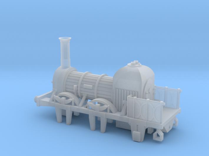 N Gauge Lion (Titfield Thunderbolt) Loco 3d printed