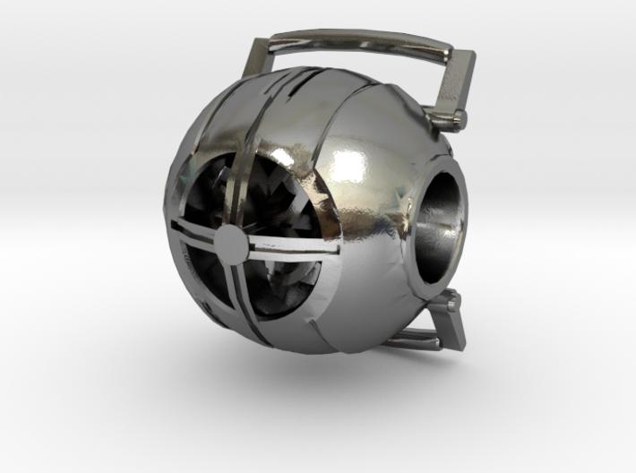 Portal Wheatley Core Bead 3d printed