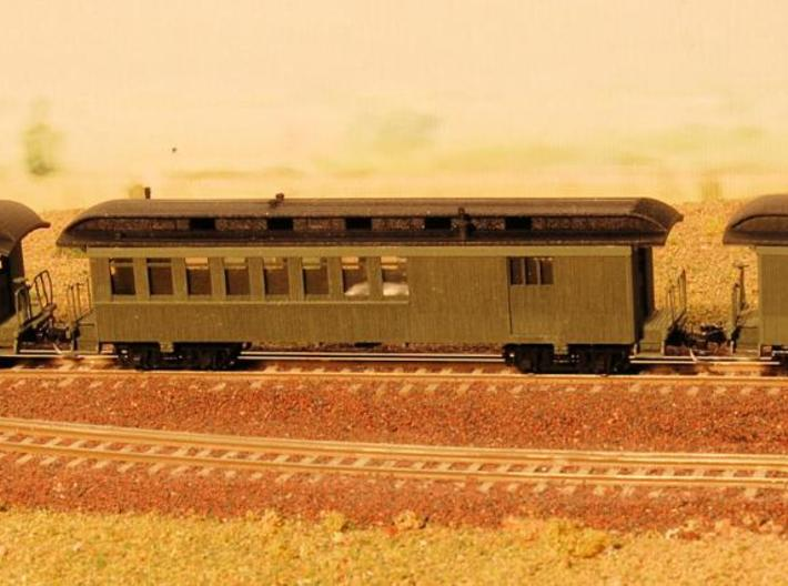 Nn3 4 car Passenger Train, w/ combine 3d printed