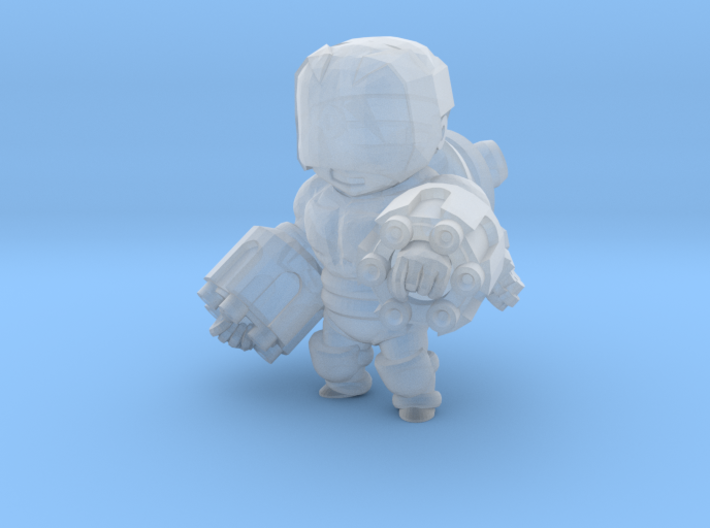 Mov the Greedy nostud 3d printed