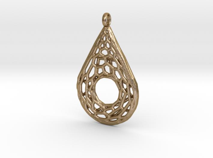 Drop Mesh 1 Pendant 3d printed