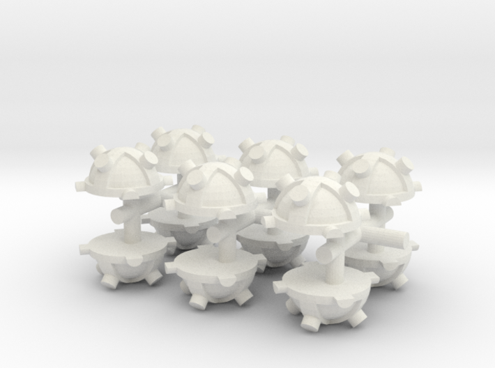 Magnectic Mine x 12 3d printed
