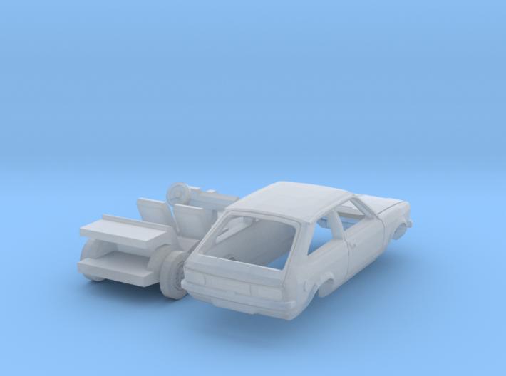 Opel Kadett City (N 1:160) 3d printed
