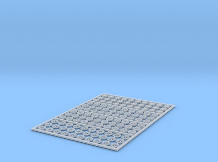 Flanges 3-1.5 mm 6b 4x30pc 3d printed