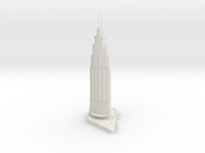 Address Boulevard (1:1800) 3d printed
