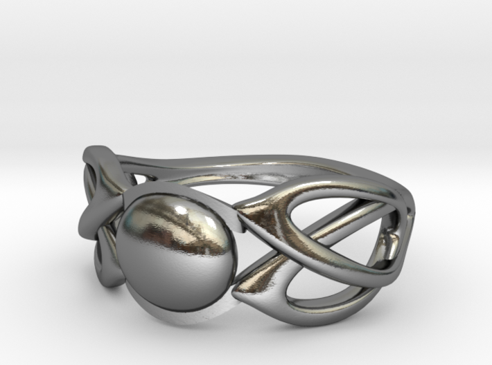 knot ring 3d printed