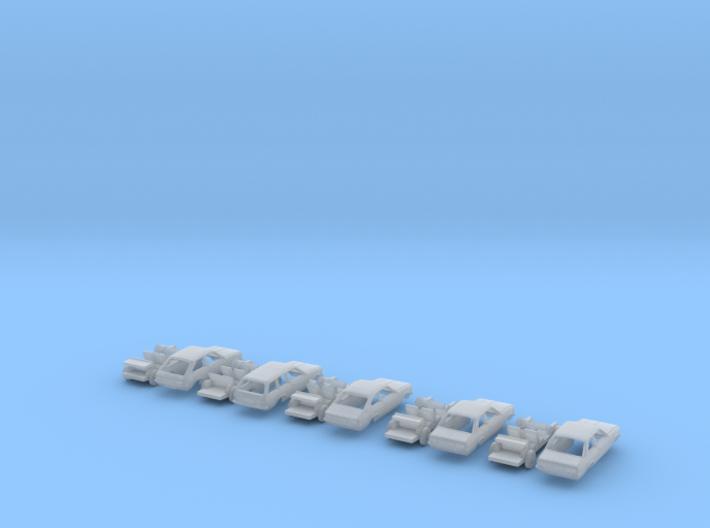 SET 5x Opel Kadett C (TT 1:120) 3d printed